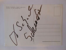 Michael Schumacher Original Autogramme der Eltern