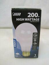 200 Watt High Wattage Standard Base Light Bulb - 3200 Lumens B0756