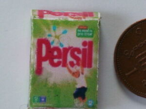 Dolls House Miniatures 1/12th Scale - Packet of Persil Washing Powder