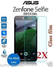 2x ASUS Zenfone Selfie ZD551KL Tempered Glass LCD Screen Protectors Film Guard