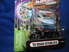 2000 SKYLINE GT-R  muscle machine Import tuner NISSAN RACING fast 1/64 black