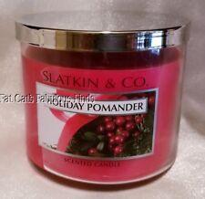 Bath & Body Works SLATKIN & CO Home Fragrance Candle HOLIDAY POMANDER  14.5 oz