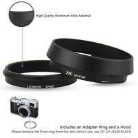 Lh Jx10 Metal Lens Hood Adapter Ring For Fujifilm