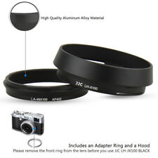 JJC Metal Lens Hood & Adapter Ring for Fujifilm X70 X100S X100T X100F as AR-X100