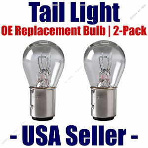 Tail Light Bulb 2pk - OE Replacement Fits Listed Isuzu Vehicles - 1034