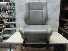 10 11 12 13 TUNDRA PASSENGER RH RIGHT SIDE FRONT MANUAL GREY LEATHER SEAT OEM
