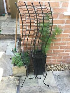 Metal Double CD Rack holds  122 CDs