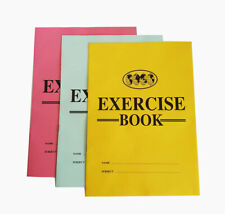 A4 Exercise Book Ruled and Margin 3 Note Books UK Seller