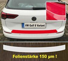 Lackschutzfolie Ladekantenschutz transparent VW Golf 8 Variant ab 2020  150 µm
