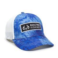 Realtree Fishing™ Men's WAV3 Stretch Fit Baseball Cap Hat Various Size New Tags