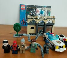 Lego 4854 Spiderman 2 - Spider-Man Doc Ock's Bank Robbery – Complete