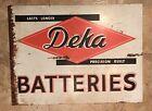 Deka Batteries sign