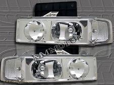 1995-2005 CHEVY ASTRO VAN / GMC SAFARI CLEAR HEADLIGHTS 97 98 99 00 01 02 03-05
