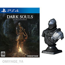 Dark Souls Remastered with limited Knight Bust Statue Japanese Version PS4