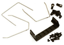 C28411BLACK Anti Roll Stabilizer Sway Bar Kit for Traxxas TRX-4 Off-Road Truck