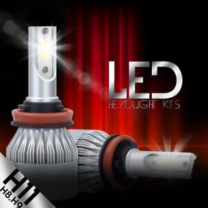2X CSP H11 H9 H8 LED Headlight Bulb Kit Low Beam Fog Light 388W 6000K 38800LM