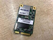 Avermedia H323-B NTSC ATSC Mini-PCI-e TV Media Card Board 0405H323-DVD