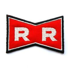 Dragon Ball Z - Logo Clothing Patch - Red Ribbon Army
