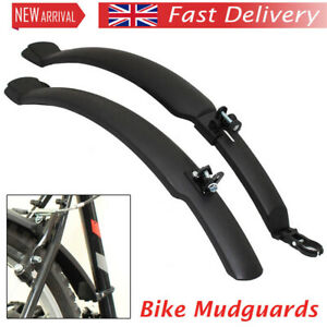 "Cycling Fender 26"" Mudguards Front & Rear Mountain Bike/bicycle Mud Guards Set"