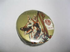 Lions club Pin Badge a Minit For Whither Thou Goest Dog 14-H Lasalle Ill 061301