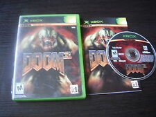 Microsoft Xbox complete in case Doom 3 tested
