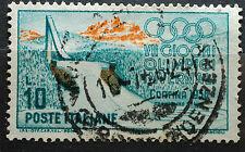 Italia 1956 Olimpiadi di Cortina   10 lire   usato