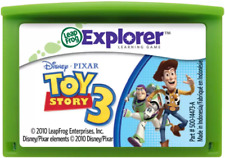 Disney Toy Story 3 Reading Learning Game Cartridge LeapFrog LeapPad Kids Phonics