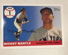 2006 Topps MICKEY MANTLE Home Run History #MHR1  New York Yankees