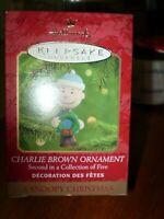 Charlie Brown Hallmark Keepsake  - A Snoopy Christmas Ornament - NIB