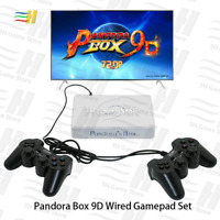 Pandora Box 9D 2500 in 1 motherboard  Wired and Wireless Set Usb connect joypad