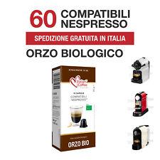 60 Capsule Orzo Biologico Italian Coffee compatibili Nespresso