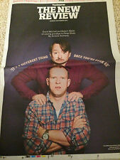 OBSERVER REVIEW NOV 2015 MITCHELL & WEBB STEVE JOBS BERTIE CARVEL DERREN BROWN