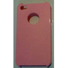 iPhone 4 & 4S Stylish Plain Colour Series Hard Case Cover 3 Colours - New