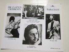 Eric Clapton 8x10 photo