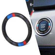 Replacement Carbon Fiber Car Engine Start Stop Ring Trim For BMW 3 E90 E92 E93