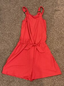 Girls Summer Playsuit Age 13-14 Years