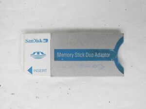SanDisk Genuine Camera Memory Stick Duo Adapter