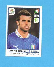PANINI-EURO 2012-Figurina n.319- BARZAGLI - ITALIA -NEW