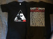 Gary Numan 2010 Concert Tour Tshirt Men's Sz S The Pleasure Principle NEW #1