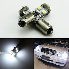 2x BA9S h6w 6000k No Error LED Parking Light Bulbs For Mercedes W210 E55 AMG