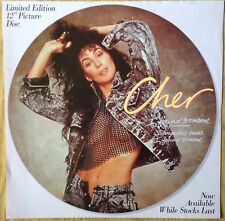 "Cher  I Found Someone   Original 1987 UK 12"" Promo Instore Display Flat"
