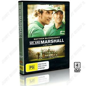 We Are Marshall DVD : (2006) Matthew McConaughey Movie True Story : Brand New
