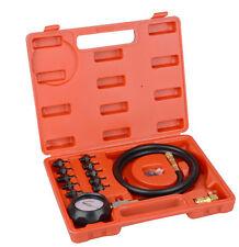 New Car Truck Engine Oil Pressure Test Tool Kit Tester Gauge Diagnostic Auto Set