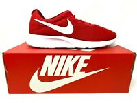 Men's Size 11.5 Nike Tanjun 812654 616 Shoes University Red/White-Team Red New