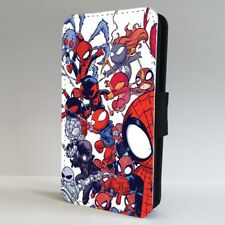 Spider Man Baby Superhero Cool Marvel FLIP PHONE CASE COVER for IPHONE SAMSUNG