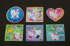 Japan 2009 G32 HELLO KITTY stamps 6v USED