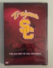 university of south carolina  TROJANS THE HISTORY OF USC FOOTBALL  DVD NEW