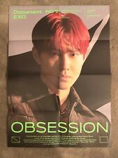 EXO SUHO OBSESSION OFFICIAL FOLDED POSTER EXO VERSION