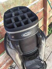 Intech 14-way Lightweight Cart Golf Bag Excellent with Cover