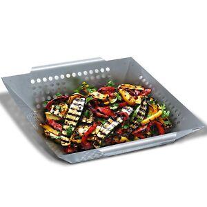 Grill Republic Premium Gemüse-Grillkorb Große BBQ-Grillschale aus Edelstahl